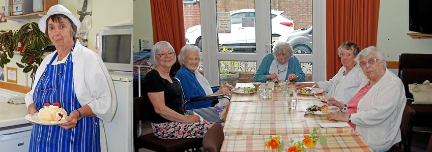 Crediton Age Concern lunch