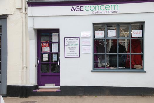 Crediton Age Concern shop