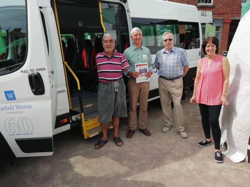 Age Concern Minibus
